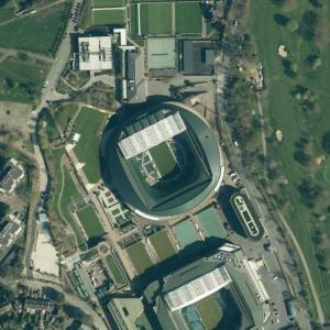 All England Lawn Tennis and Croquet Club (Bing Maps)