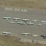 Group of planes on ramp at Big Bear