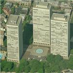 'Society Hill Towers' by I.M. Pei (Birds Eye)