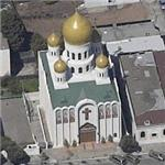 Russian Orthodox Holy Virgin Cathedral (Birds Eye)
