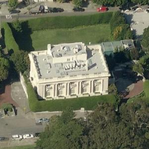 Spreckels Mansion (Danielle Steele's home) (Birds Eye)