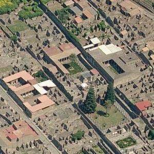 Pompeii - House Of The Faun (Birds Eye)