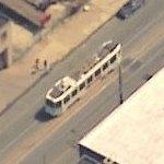 Surface-Subway Trolley (Philadelphia, Rt10 Lancaster Ave-Overbrook) (Birds Eye)