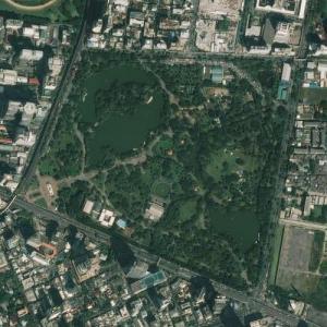 Lumphini Park (Bing Maps)