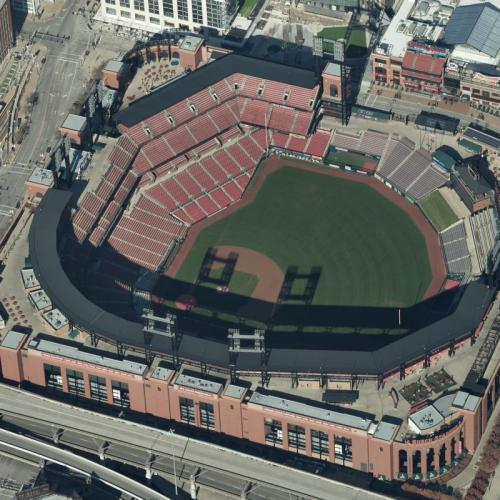 Busch Stadium (Birds Eye)