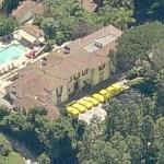 8 FERRARI in luxury villa Beverly Hills (Birds Eye)