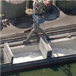 Loading a bulk break container ship (Birds Eye)