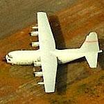 C-130A (57-0477) used as a ground trainer at Savannah/Hiltonhead International (Birds Eye)