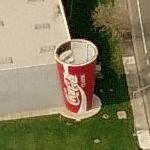 Giant Coca Cola Cup