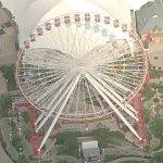Navy Pier Ferris Wheel (Birds Eye)