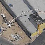 Pumping Concrete at JFK (Birds Eye)