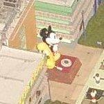 Giant Mickey Mouse telephone