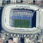 Santiago Bernabeu Stadium (Bing Maps)