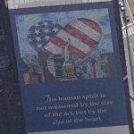 """Yakov Smirnov's """"America's Heart"""" mural"""