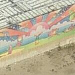 Peter Max mural (Birds Eye)