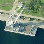 Large floating crane (Birds Eye)