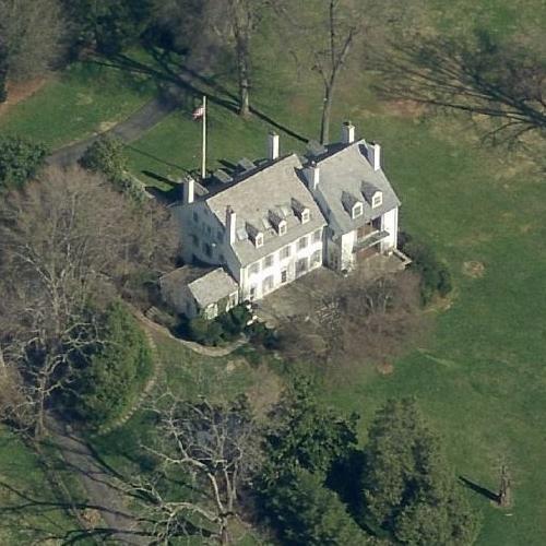 John F. Kennedy's Hickory Hill (Birds Eye)
