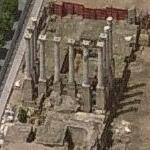 Roman Temple Ruins (Birds Eye)