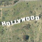 Hollywood Sign (Birds Eye)