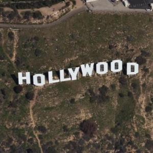 Hollywood Sign (Birds Eye)