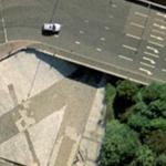 """A clockwork orange"" tunnel (Bing Maps)"