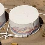 Water Tank Murals (Birds Eye)