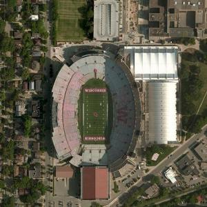 Camp Randall Stadium (Bing Maps)