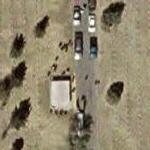 Funeral in progress (Bing Maps)