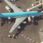 Korean Air - HL7482 at LAX (Birds Eye)