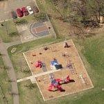 Heritage Park playground (Birds Eye)