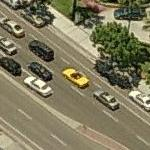 Yellow Convertible (Birds Eye)