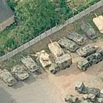 French tanks (Bing Maps)