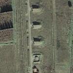 Secret road to a secret base (Bing Maps)