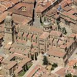 Salamanca's Cathedrals (Birds Eye)