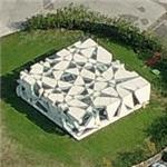 Former 2002 Serpentine Gallery Pavilion after relocation (Birds Eye)