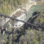 Upper Falls Letchworth State Park (Birds Eye)