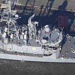 Oliver Hazard Perry class USS Carr (FFG-52) (Birds Eye)
