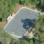Roller hockey rink (Birds Eye)