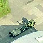 Transporting Danish Armored Personnel Carriers (Birds Eye)