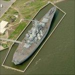 USS Alabama (Birds Eye)