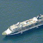 Celebrity Cruises' ship 'Millennium' (Birds Eye)