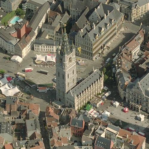 Belfry of Ghent (Birds Eye)