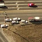 Car accident in Colorado (Birds Eye)