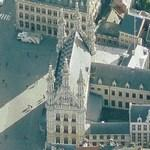 Leuven Town Hall (Birds Eye)