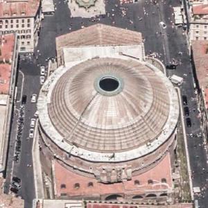 Roman Pantheon (Birds Eye)
