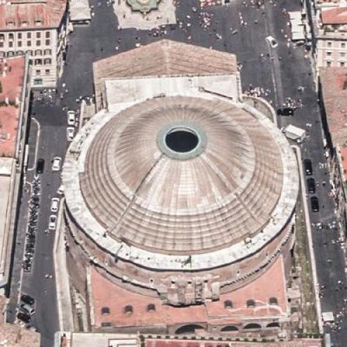 Roman Pantheon (Birds Eye)