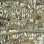 Airplane Scrap Yard (Birds Eye)