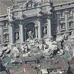 Trevi Fountain (Bing Maps)
