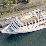 MSC Cruises ship 'MSC Lirica' (Birds Eye)