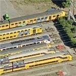 Double-level NS commuter trains (Birds Eye)